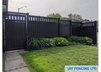 Waterloo fencing contractor Jay Fencing Ltd.