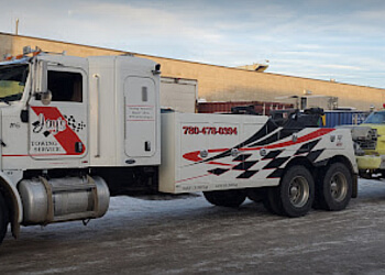 Edmonton towing service Jays Towing Service