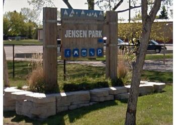 Airdrie public park Jensen Park