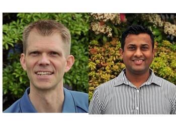 Abbotsford physical therapist Jeremy D. Bensler, PT & Noel Mondhe, MPT