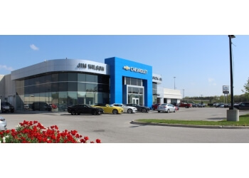 Orillia car dealership Jim Wilson Chevrolet Buick GMC