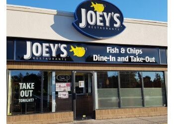 Kitchener seafood restaurant Joey's Seafood Restaurants