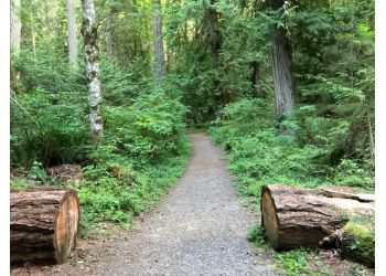 Saanich hiking trail John Dean Provincial Park