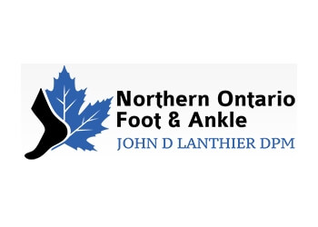 Sudbury podiatrist John Lanthier, BSc, DPM, FACFAS