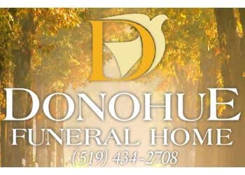 London funeral home John T. Donohue Funeral Home Limited