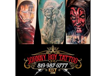Sherbrooke tattoo shop Johnny Boy Tattoo