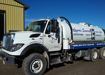 Sarnia septic tank service Johnson's Sanitation Service Ltd.