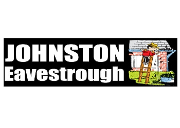 Winnipeg gutter cleaner Johnston Eavestrough and Cleaning Service