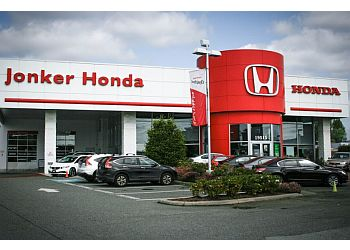 Surrey car dealership Jonker Honda