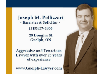 Guelph civil litigation lawyer Joseph M. Pellizzari