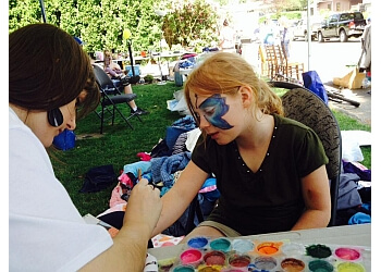 Maple Ridge face painting Joyful Celebrations