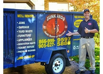 Burlington junk removal Junkaroo