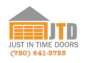 Sherwood Park garage door repair Just In Time Doors