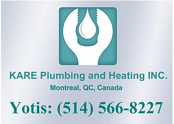 Montreal plumber KARE Plumbing and Heating, INC.