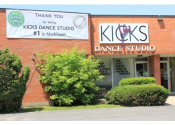 Markham dance school KICKS Dance Studio