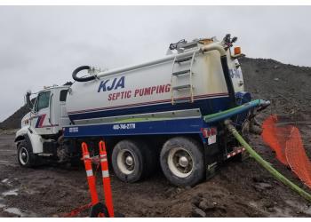 Red Deer septic tank service KJA Septic
