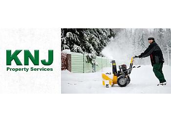 Markham snow removal KNJ Property Services