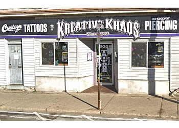 Brantford tattoo shop KREATIVE KHAOS