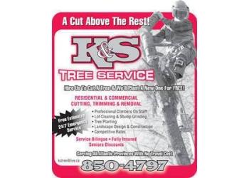 Moncton tree service K&S TREE SERVICE