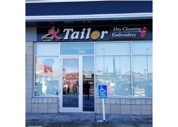 Calgary dry cleaner K Tailor Dry Cleaning & Embroidery
