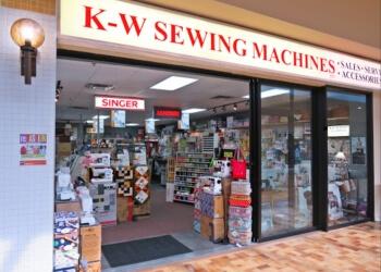 Kitchener sewing machine store K-W Sewing Machines