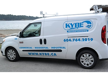 North Vancouver electrician KYBE Electrical Contracting Ltd.