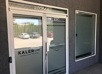 Abbotsford personal injury lawyer Kaler Law Corporation