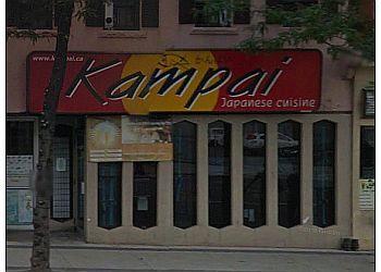 Hamilton japanese restaurant Kampai