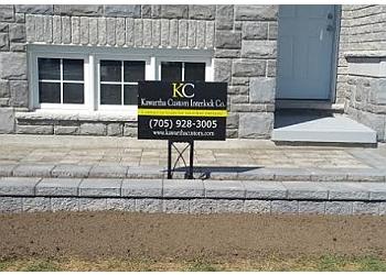 Kawartha Lakes landscaping company Kawartha Custom Interlock Co.