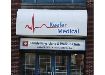 Vancouver urgent care clinic KEEFER WALK-IN & MEDICAL CLINIC