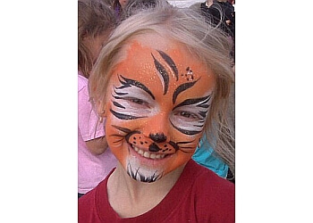 Regina face painting Keegan Duck Magic & Entertainment