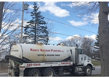 Kingston septic tank service Ken's Vacuum Pumping Ltd.