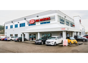 Coquitlam car dealership Kia West