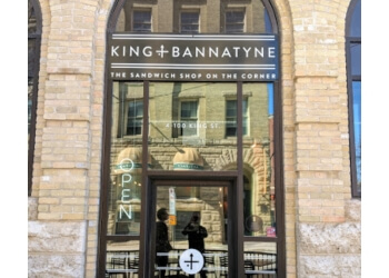 Winnipeg sandwich shop King + Bannatyne