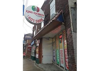 London pizza place King Richie's Pizzeria