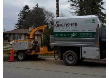 Ajax tree service Kingfisher Tree Service Inc