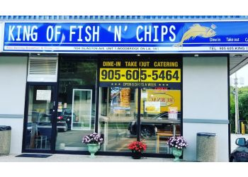 Vaughan fish and chip King of Fish N Chips