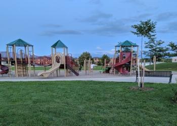 Vaughan public park Kingsview Park