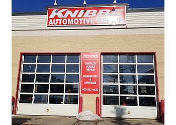 Calgary car repair shop Knibbe Automotive Repair
