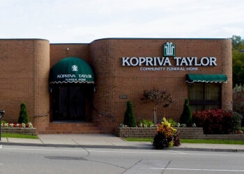 Oakville funeral home Kopriva Taylor Community Funeral Home