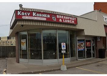 Brampton bagel shop Kosy Korner Donuts