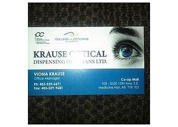 Medicine Hat optician Krause Optical