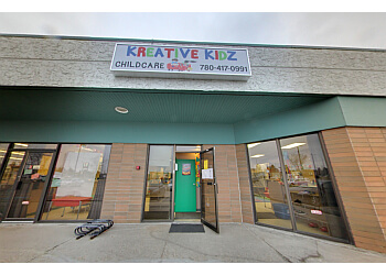 Sherwood Park preschool Kreative Kidz Childcare