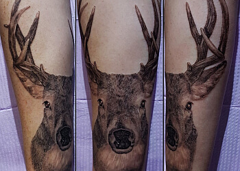 Hamilton tattoo shop Kryptonian Ink