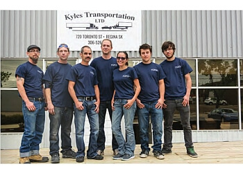 Regina moving company Kyle's Transportation Ltd.