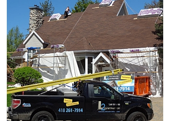 Quebec roofing contractor L2 TOITURE