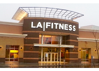 Burlington gym LA Fitness