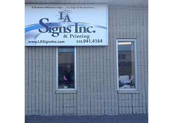 Orangeville sign company LA Signs Inc.