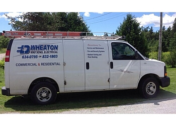 Saint John electrician LD Wheaton & Sons, Electrical