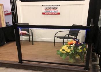 Lethbridge fencing contractor LETHBRIDGE RESIDENTIAL FENCE & DECK INC.